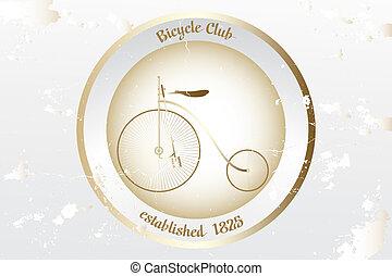 Vintage bicycle design