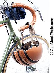 Vintage bicycle handlebar