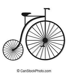 Creative design of vintage bike