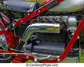 Vintage bike motorcycle