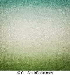 Vintage blue green paper background
