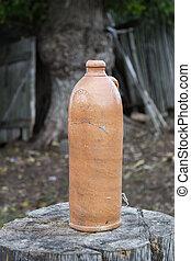 Vintage bottle of mineral water 2