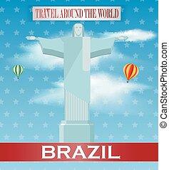 Vintage Brazil Travel vacation post