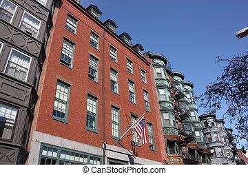 Vintage Brick building
