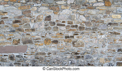 Vintage brick wall, architectural background texture