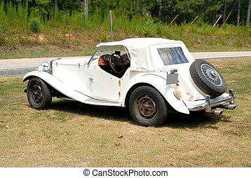 Vintage British Made Sports Car