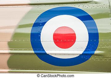 vintage british military roundel