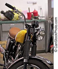 Vintage British Motorcycle 3