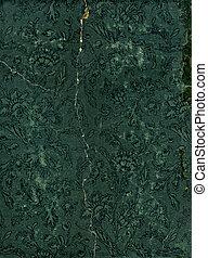 Vintage broken floral wallpaper pattern background texture