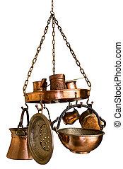 Vintage Bronze Kitchenware