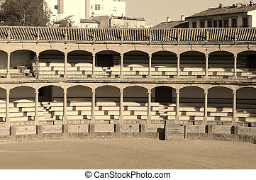 vintage bullring photo