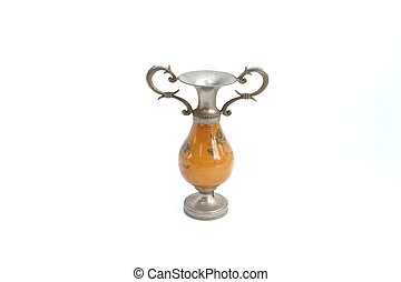 vintage Candlestick on isolated