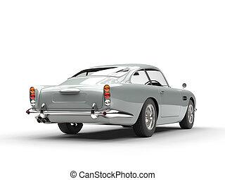 Vintage car - back view