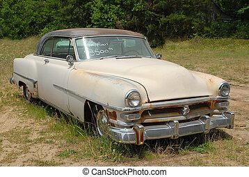 Vintage Car For Sale - Photographed vintage car for sale in...