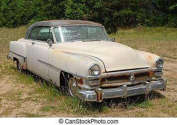 Vintage Car For Sale - Photographed vintage car for sale in...