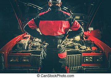 Vintage Car Repair Challenge