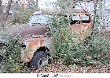 Vintage car.