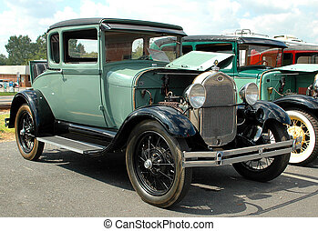 Vintage Car - Vintage car photographed at local area in...