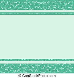 Vintage card design for greeting card, invitation, menu