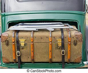 Vintage Case in Car