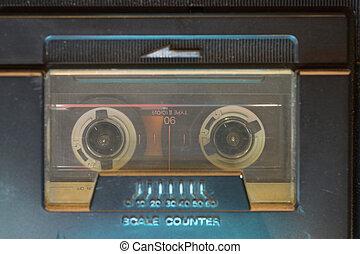 vintage cassette inside