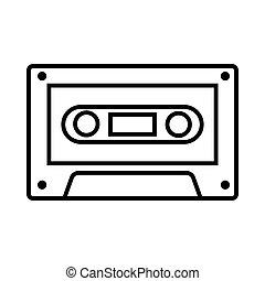 Vintage cassette music