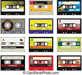 Vintage cassette tapes vol 2