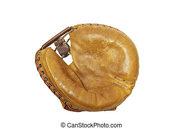 Vintage Catcher\'s Mitt