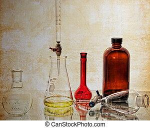 Vintage Chemistry Glassware