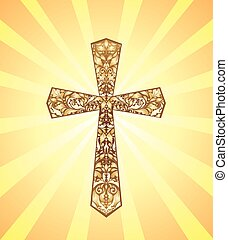 Vintage Christian Cross