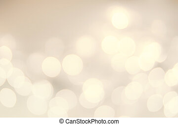 Vintage Christmas background with golden bokeh lights. Defocused Bokeh twinkling Lights Festive holiday party background.