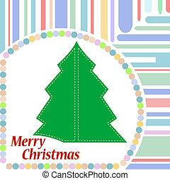 Vintage christmas card. new year background