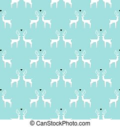 Vintage Christmas colors seamless pattern background