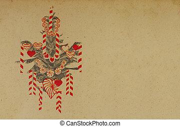 vintage-christmas-decor - vintage chirstmas santa decoration...