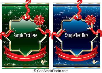 Vintage christmas design