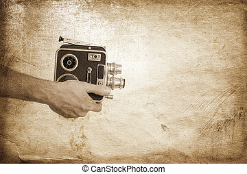 vintage cinematograph - special toned (made from my images) ...