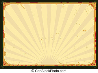 Illustration of a circus poster background for advertisement