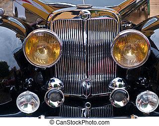 Vintage classical sports car