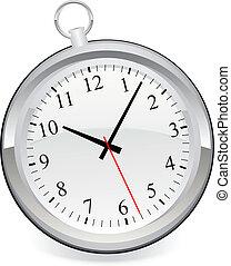 clock icon - vintage clock icon eps 10