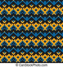 Vintage cloth geometric pattern.