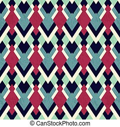 vintage cloth seamless pattern