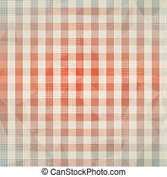 vintage cloth seamless pattern with grunge effect