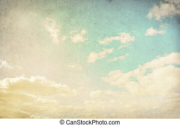 Vintage cloudy background