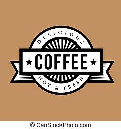 Vintage Coffee sign or logo