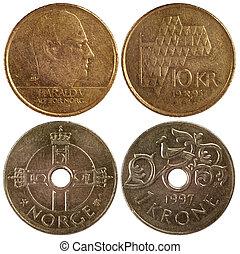 vintage coins of norway