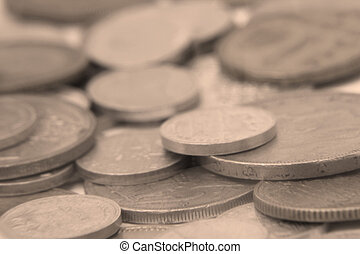 vintage coins photo detail