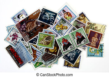 Collectible Stamps - Vintage Collectible Stamps in groups in...