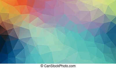 Vintage color background with triangle shapes. EPS 10