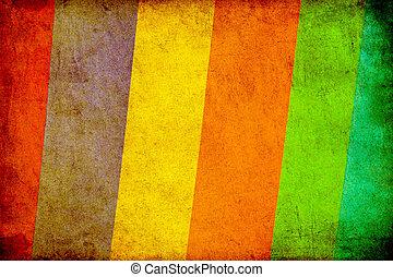 vintage colorful paper background set