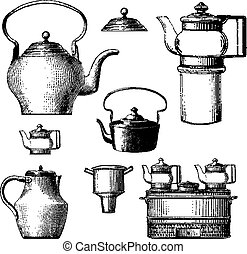 cookware - vintage cookware items